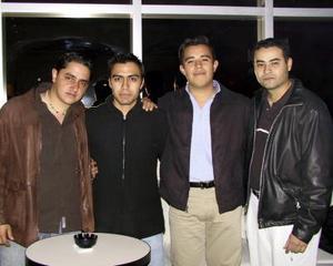Augusto García, Miguel A. Robles, Rodrigo Hernández, Manuel Cano.