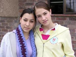 Fernanda García y Ale Madero.