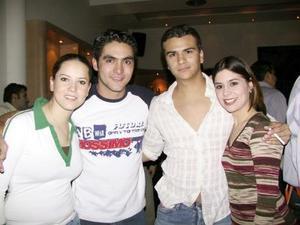 Malú Martínez, Jorge Jaik, Beto Llorens, Maritere Serna.