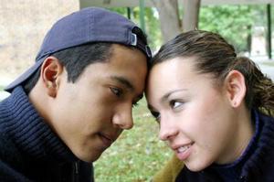 Luis Felipe del Rivero y Alejandra Sánchez.
