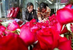 Día del Amor y la Amistad en China.