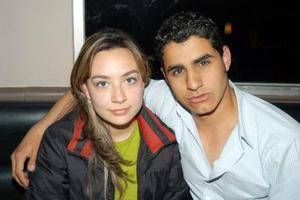 Lizuli Sánchez Álvarez y Abraham Ceniceros.