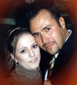 María del Carmen Montes y Hugo Cuitláhuac Meléndez Castañeda contrajeron matrimonio