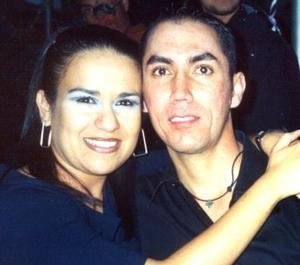 Olga Lidia Ruiz y Salvador Saldaña.