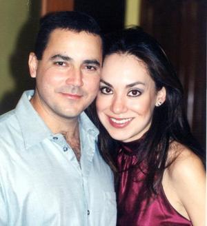 Rodolfo  Ruiz Treviño y Mónica González Sánchez.