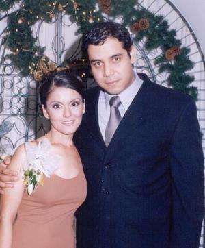 Sandra Villavicencio y Edson Contreras de la Fuente.
