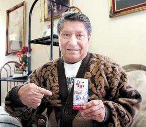 Luis Muñoz Carranza de la colonia Las Alamedas  confirmó que era ganador de la Semana Nro. 3.