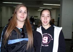 <u><b>15 de febrero</u></b><p>  Karla y Maribel Rubio viajaron a Monterrey para disfrutar un receso vacacional.