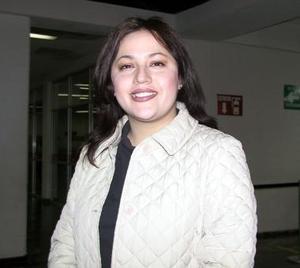 <u><b>16 de febrero</u></b><p>   Nadia Verónica Gutiérrez Delgadillo llegó de Monterrey para tratar asuntos de trabajo.