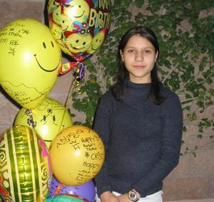 Cristina González de Alba festejó su cumpleaños en días pasados con un divertido convivio.
