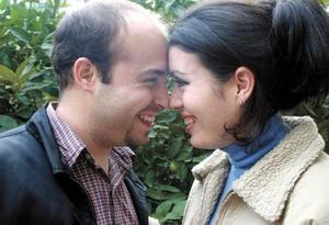 Laura Carrillo Ramos e Israel Romero.