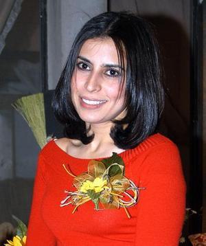 Érika Alejadra Barraza fue despedida de su soltería con un agradable convivio.