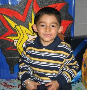 Alejandro Ollivier Ochoa festejó su cumpleaños en fechas pasadas con una divertida fiesta infantil.