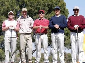 Fernando Jalife, Marcelo Obeso, Ricardo Sada, Alejandro Córdova y Javier Valdez.