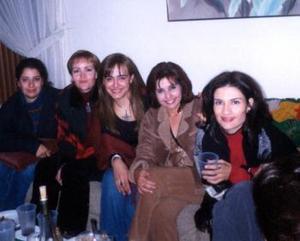 Melvis Elizalde, Marcela Quintero, Graciela Villalobos, Lourdes Guzmán y Verónica Nava