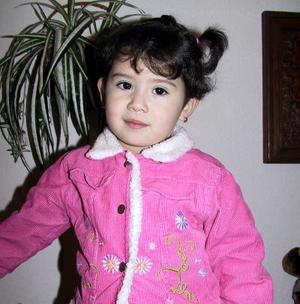 <b><u>19 de febrero</b></u><p> La pequeña Alicia Estela Prieto Romo festejó su tercer cumpleaños con un divertido convivio