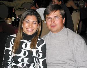 Ana Sofía García Camil y Bernardo Garza