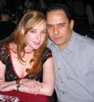 Enrique Ducoulombier e Isadora Acuña de Ducoulombier