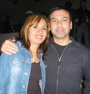 Jimena de Tolentino y Francisco Tolentino