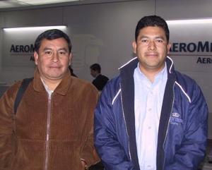<u><b>19 de febrero</u></b><p> De México arribó Álvaro Contreras y fue recibido por Margarito Reyna.