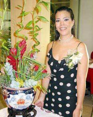 Betty Wong Armendáriz, captada en una de sus depedidas de soltera, realizada en fechas pasadas.