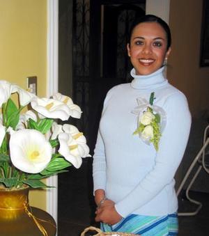 Eva Marcela Gamboa fue despedida de su soltería en fechas pasadas.