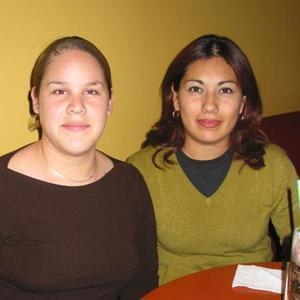 Cynthia Muruato y Rebeca Rentería.