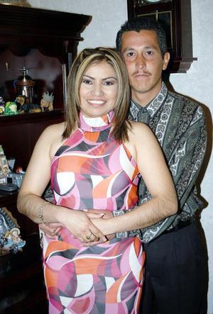 Óscar Alberto Venegas Treviño y Verónica López Rodríguez captados recientemente
