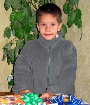 Zahid Israel Carrillo Ramírez festejó su séptimo cumpleaños con una agradable merienda infantil.