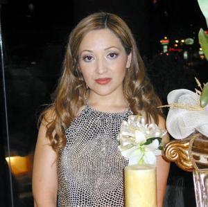 Brenda Liliana Mestas Aldaco, en su primera despedida de soltera.