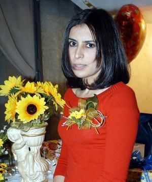 Érika Alejandra Barraza de la Torre recibió muchas felicitaciones en su despedida de soltera con motivo de su próximo enlace.