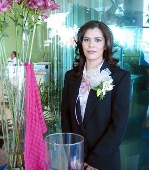 Maricruz Martínez Ruiz fue despedida de su soltería en fechas pasadas.