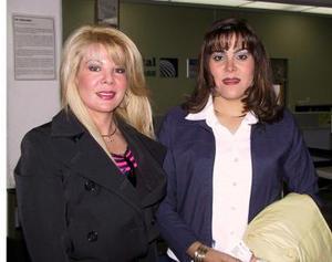 Sandra Zaragoza y Laura Ramírez viajaron a Nueva York.