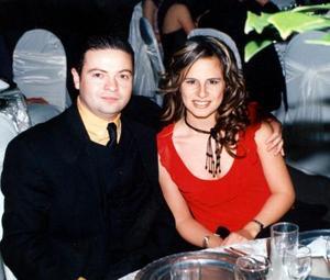 Jorge Humphrey y Alejandra Galván de Humphrey.