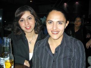Lizbeth Rico Chávez y Lucero Vázquez González.