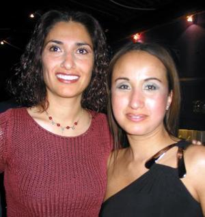 Maribel Cabrera y Rosa Huerta.