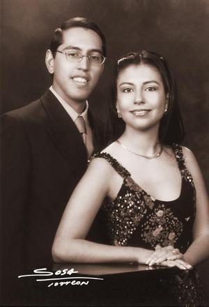 Ricardo Fernández y Martha Isabel Sánchez efectuaron su presentación religiosa el 14 de febrero de 2004.