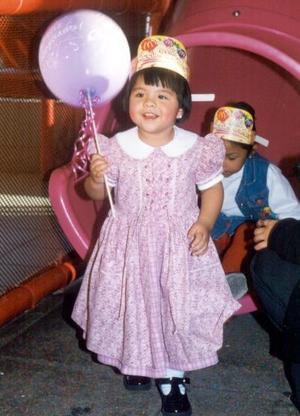 Ingrid Vianey González Acevedo festejó su segundo cumpleaños de vida con un divertido convivio