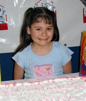 Matha Fernanda Herrera Alanís festejó su séptimo cumpleaños.