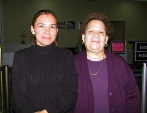 <u><b>24 de febrero</u></b><p> Regresaron de Guadalajara, Jalisco María de la Luz Díaz y Elba Lira.
