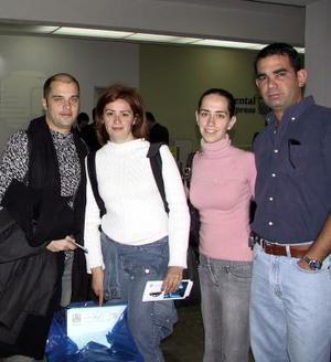 <u><b>25 de febrero</u></b><p> La familia Aguiñaga Gutiérrez despidió a Vittorio y Alejandra Beltranello quienes viajaron a Rusia.