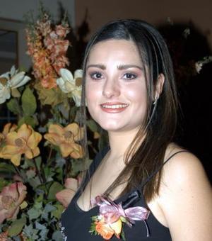 Ana Cecilia González Valdés el día de su despedida de soltera, ella contraerá matrimonio con Ricardo Camacho Macías.