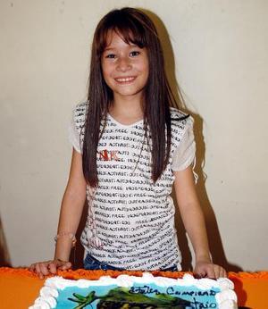 Astrid Argote Alcalá festejó su cumpleaños número nueve en días pasados.