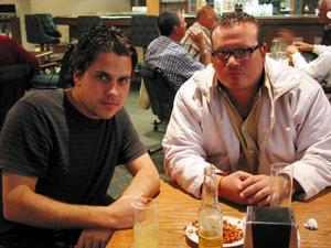 Paco Delgado y Nacho Inzaghi