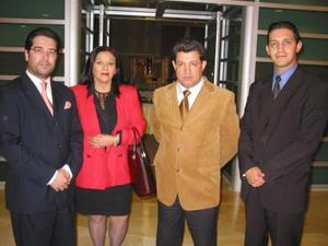 Pedro Luis Martín Bringas, Eduardo Jiménez Saracho Eduardo Ortuño y Luis Gurza.