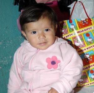 Frida Andrea de la Cruz festejó su primer año de vida, con una divertida fiesta que le organizaron sus papás.