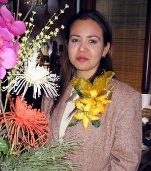 Lilia Guadalupe García López fue despedida de su soltería en fechas pasadas.