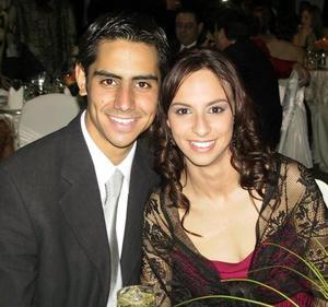 Rodrigo Corja y Barby Ortiz.
