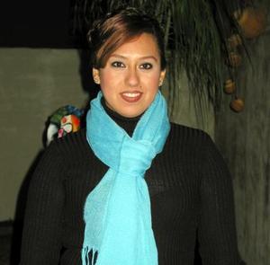 Nuria Ramos Jiménez festejó su cumpleaños en días pasados con un agradable convivio.