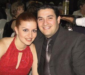 Liliana Fernandez y Beto Palacios.